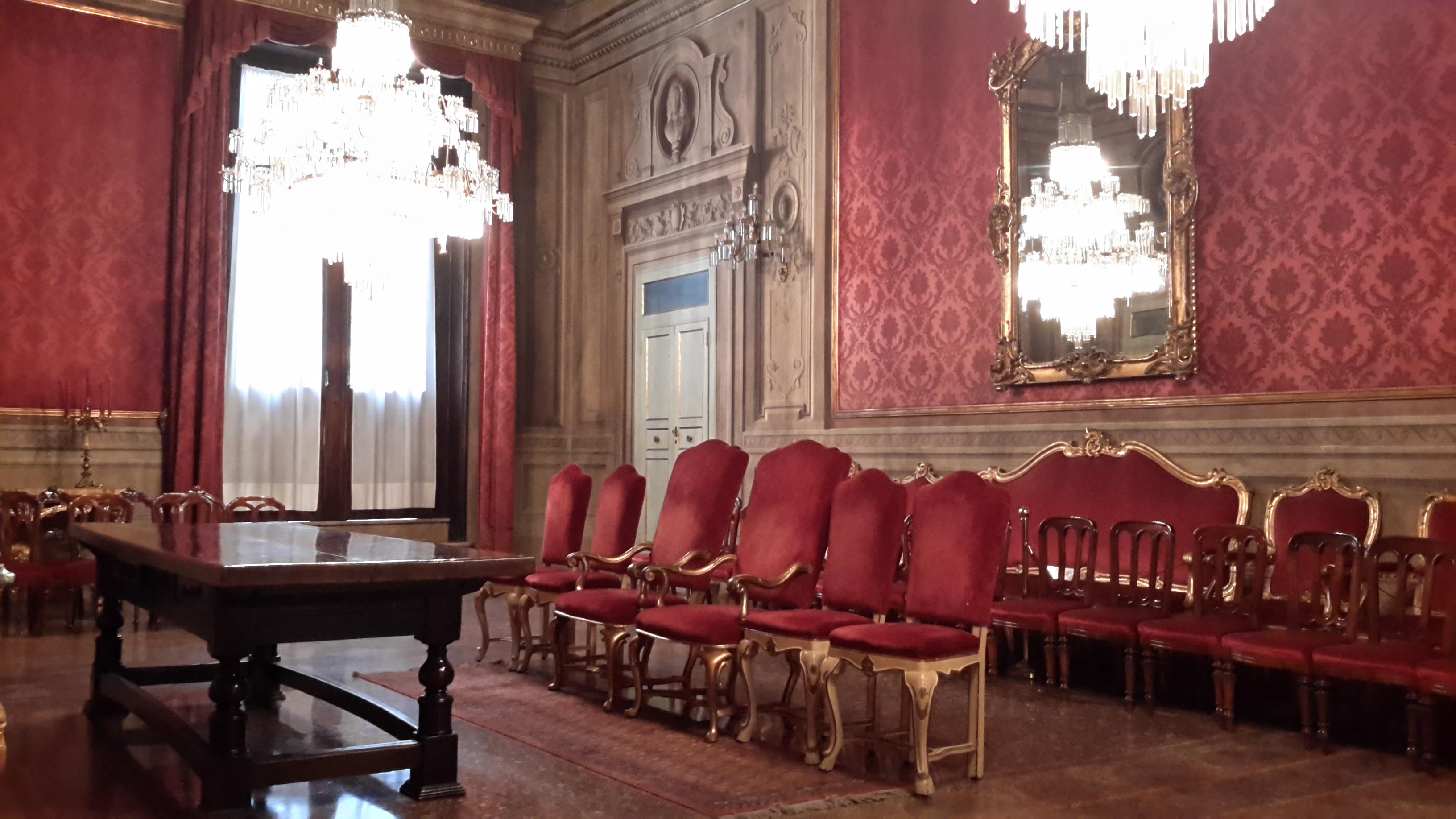 Sala rossa matrimoni Bologna
