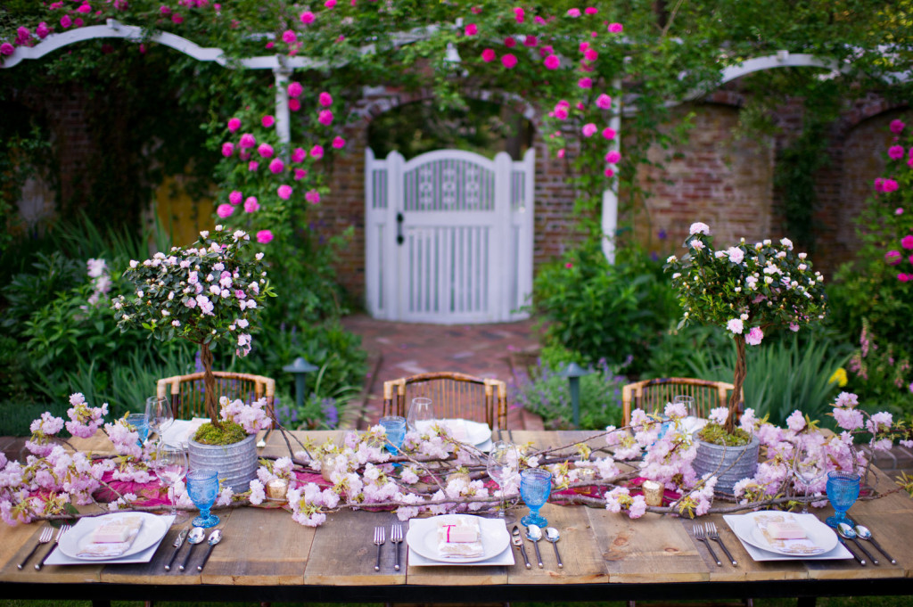 Apparecchiare per le nozze
