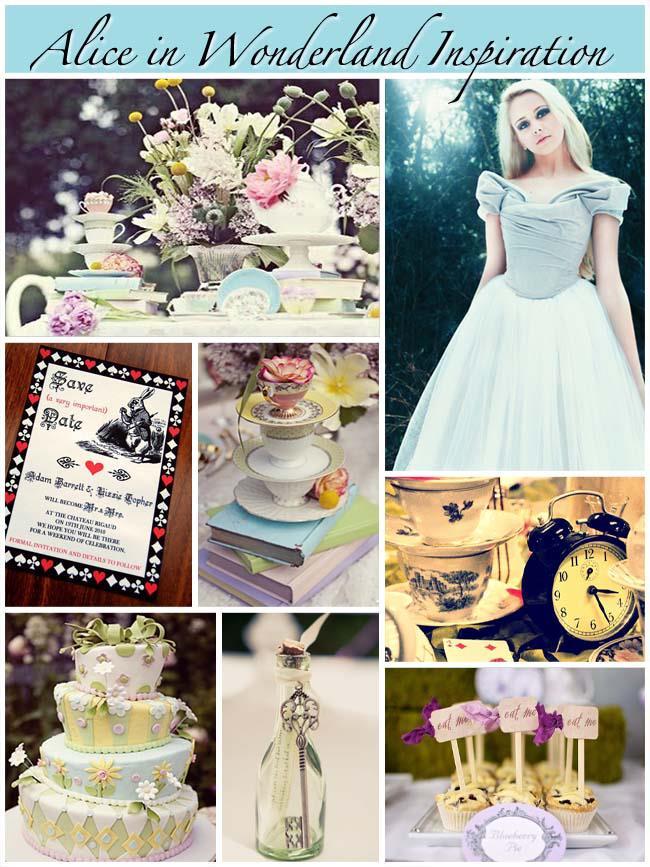 Tema Matrimonio Wonderland : Un pizzico di magia per le vostre nozze matrimonio a