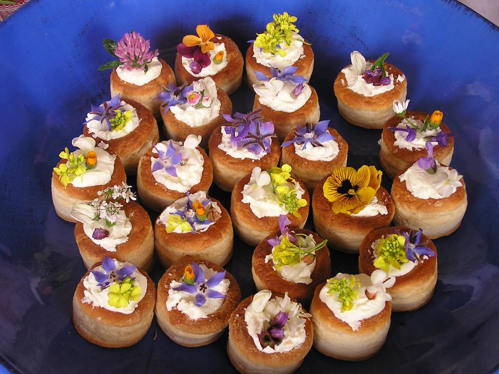 Catering di nozze matrimonio a bologna blog for Fiori edibili