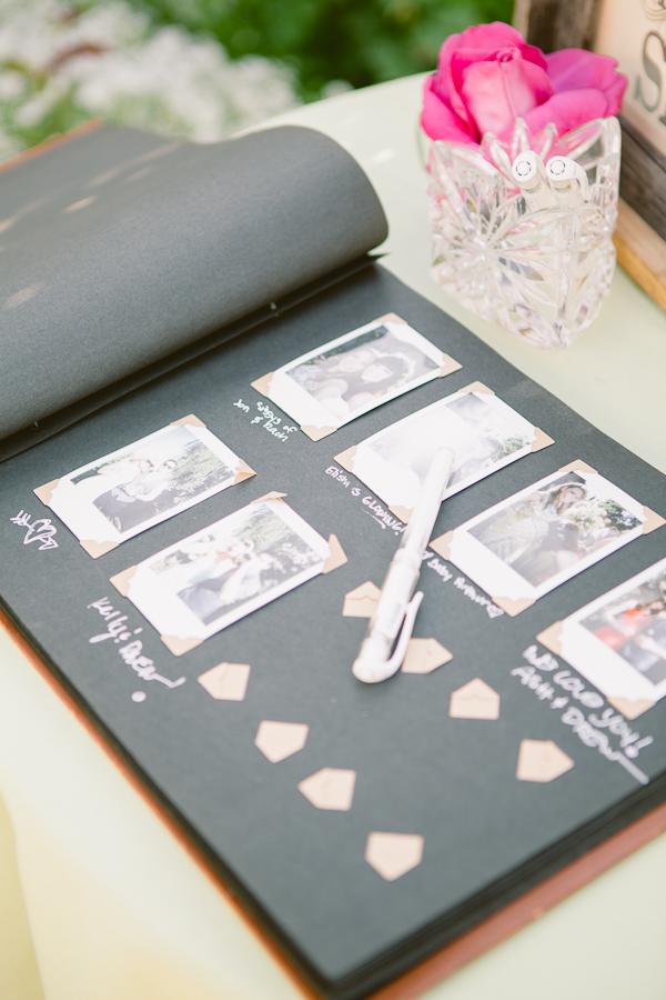 Il guest book per il matrimonio