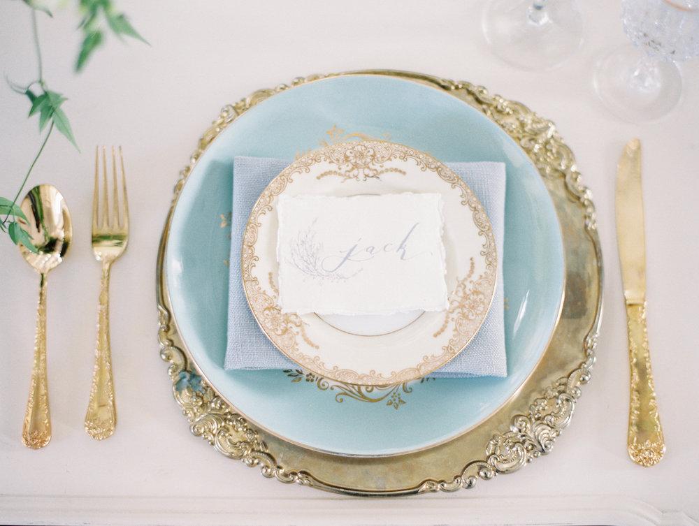 la tavola per le nozze