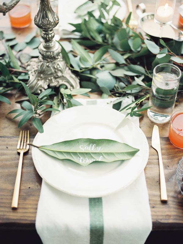 Bon ton a tavola: i segnaposti