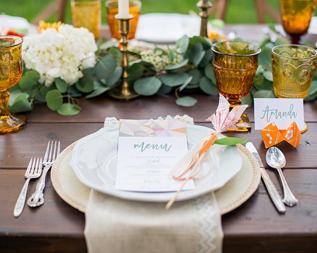 Bon ton a tavola i segnaposti matrimonio a bologna blog - Bon ton a tavola ...