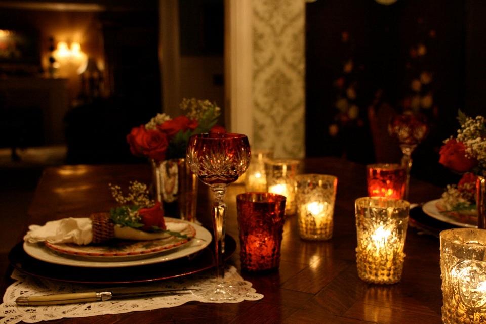 la cena romantica