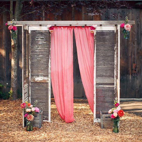 decorazioni matrimonio riciclo