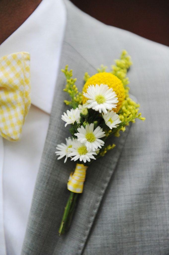 La bouttoniere dello sposo
