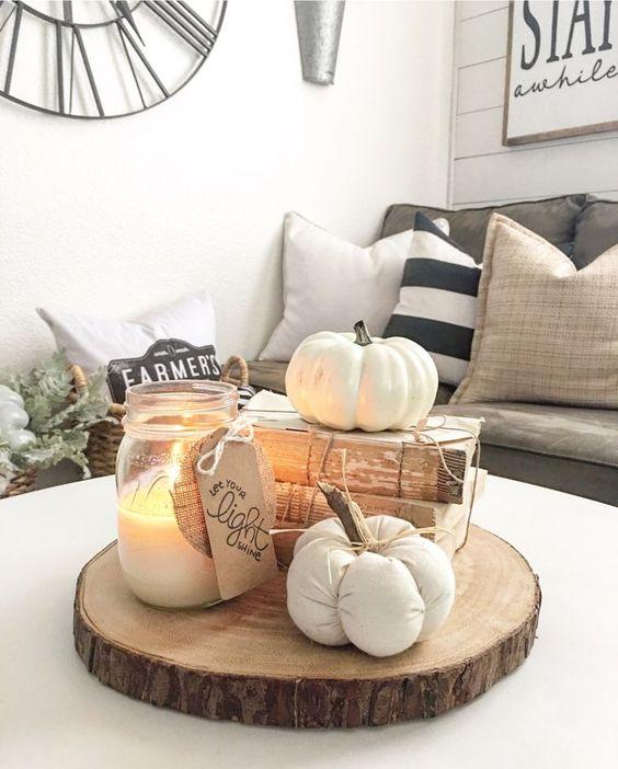 arredare la casa per l'autunno