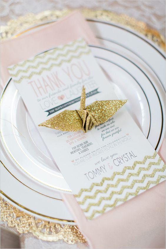 Matrimonio Tema Origami : Idee origami per le nozze matrimonio a bologna