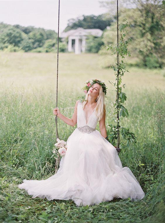 altalena decorazione matrimonio