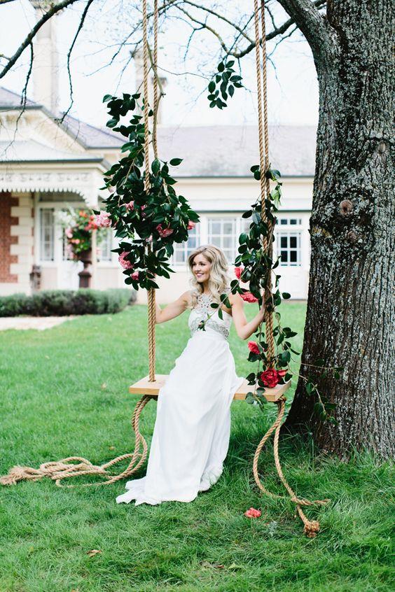 decorazione matrimonio in giardino