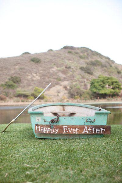 decorare le nozze con le barche