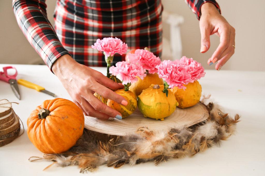 centrotavola autunno fai da te