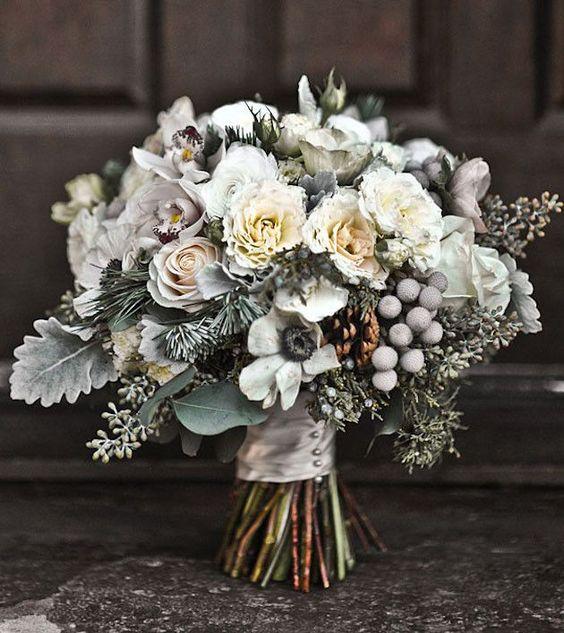 bouquet sposa sposa inverno