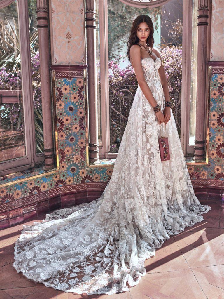 collezione sposa dedicata all'epoca Vittoriana