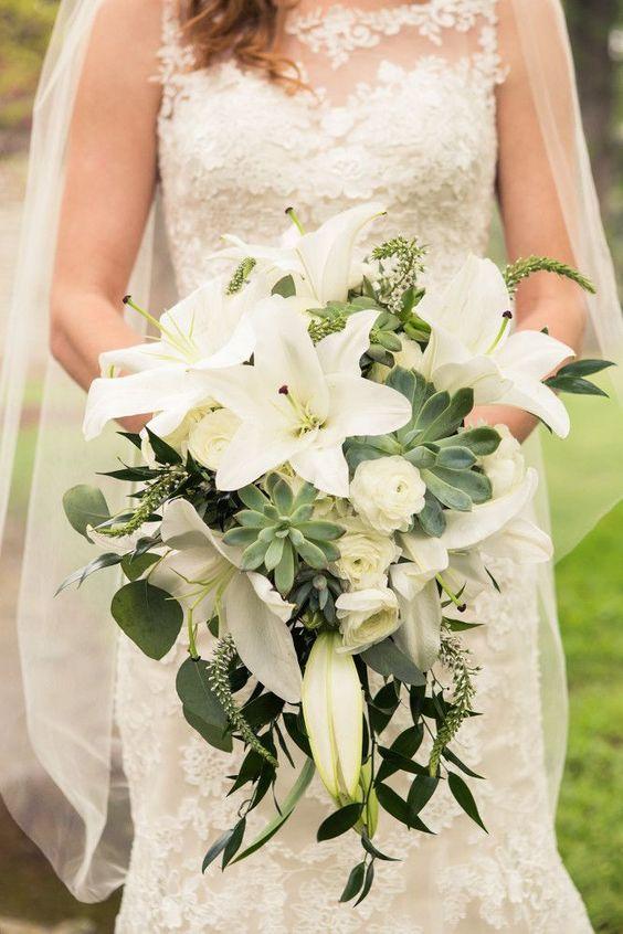 bouquet sposa a casacata