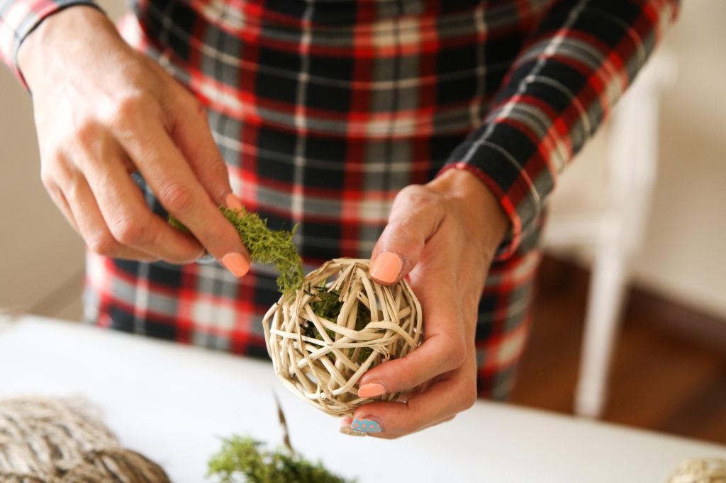sfere fiorite per decorare la vostra casa