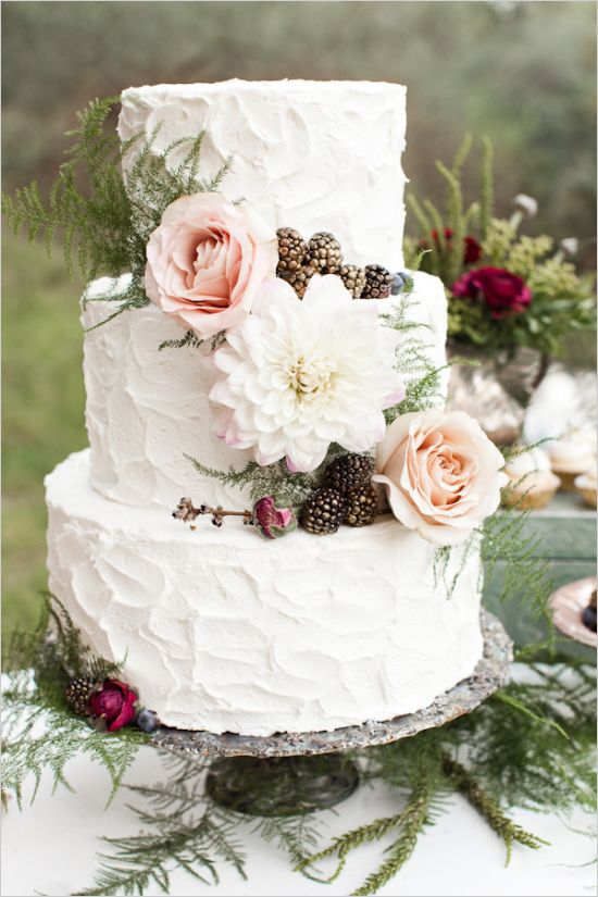 wedding cake inverno