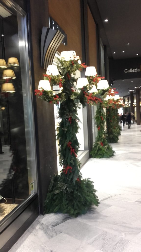 Galleria Cavour Bologna Natale 2017