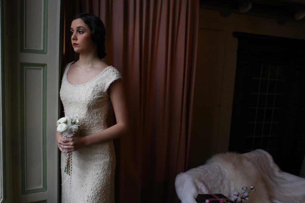 Ispirazione matrimonio invernale inizio '900