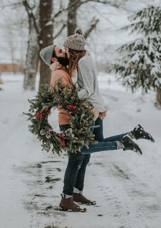 Una proposta di matrimonio a Natale