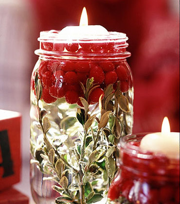 idee per le candele di Natale