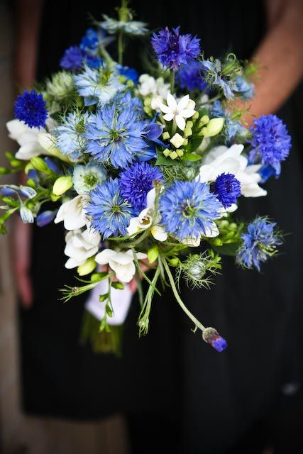 Bouquet sposa fiordaliso