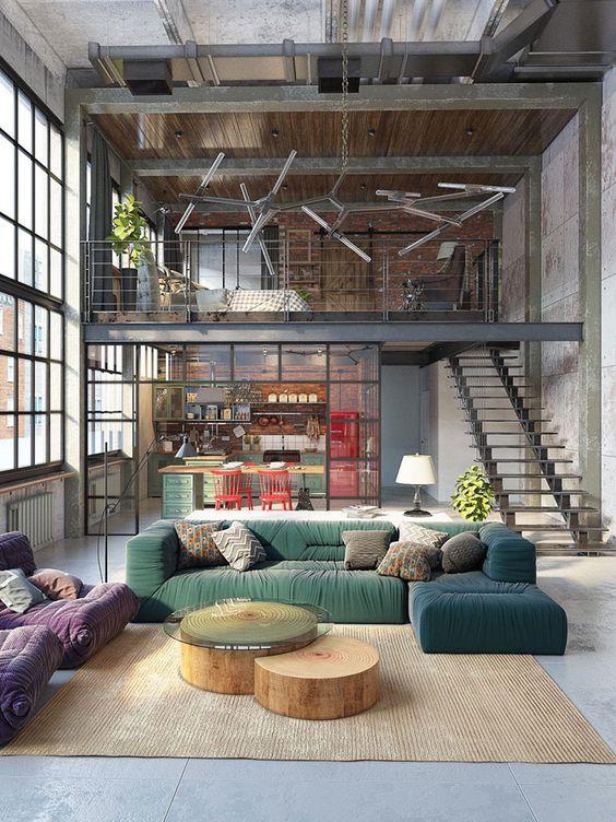 Stile casa: tendenza industrial vintage