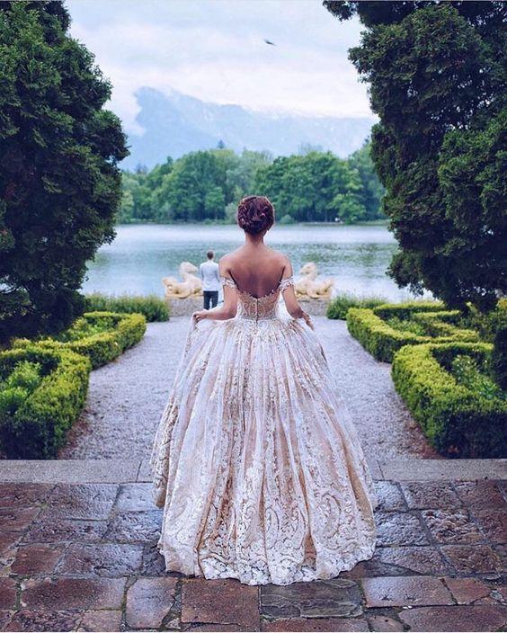 Gli stili della sposa: principessa del '700