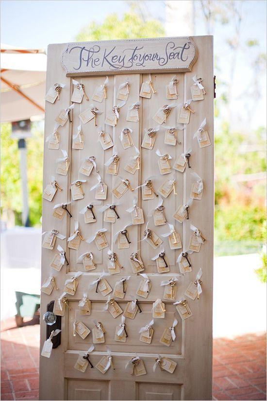 Tableau mariage porta antica e chiavi