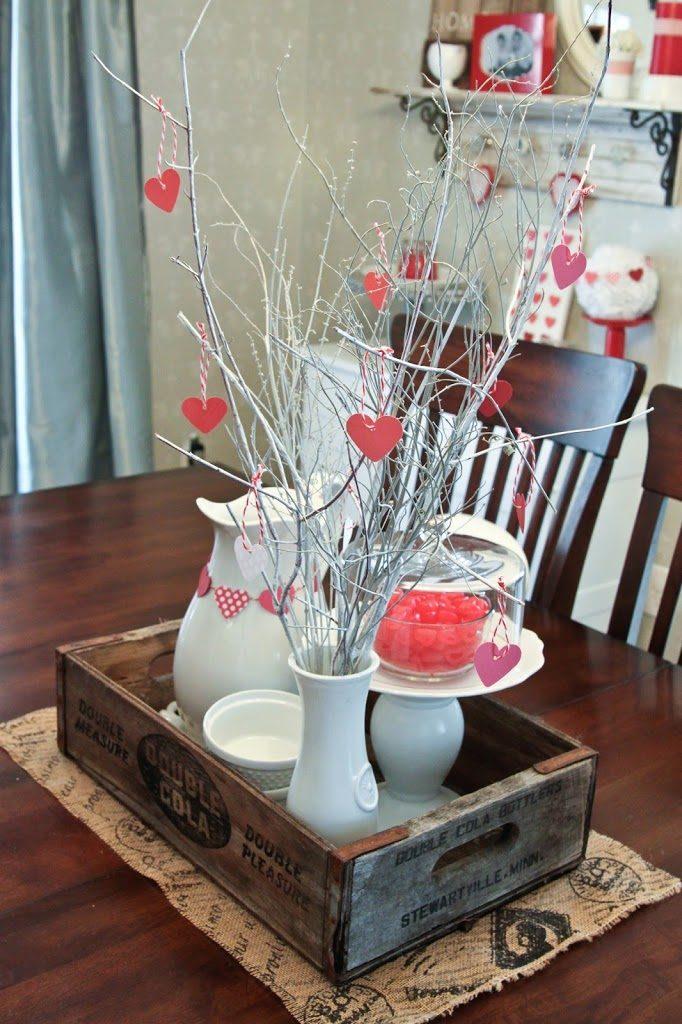 Centritavola San Valentino