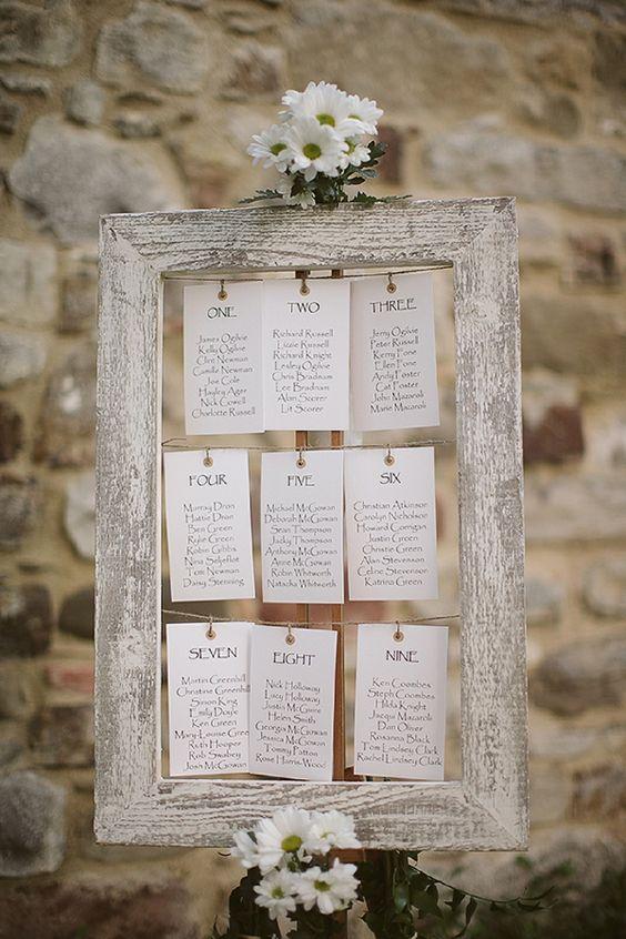 Tableau mariage cornice