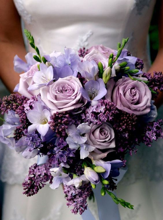 Bouquet ultra violet