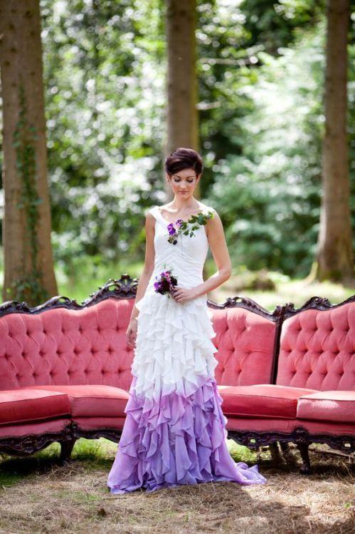 Abito da sposa ultra violet