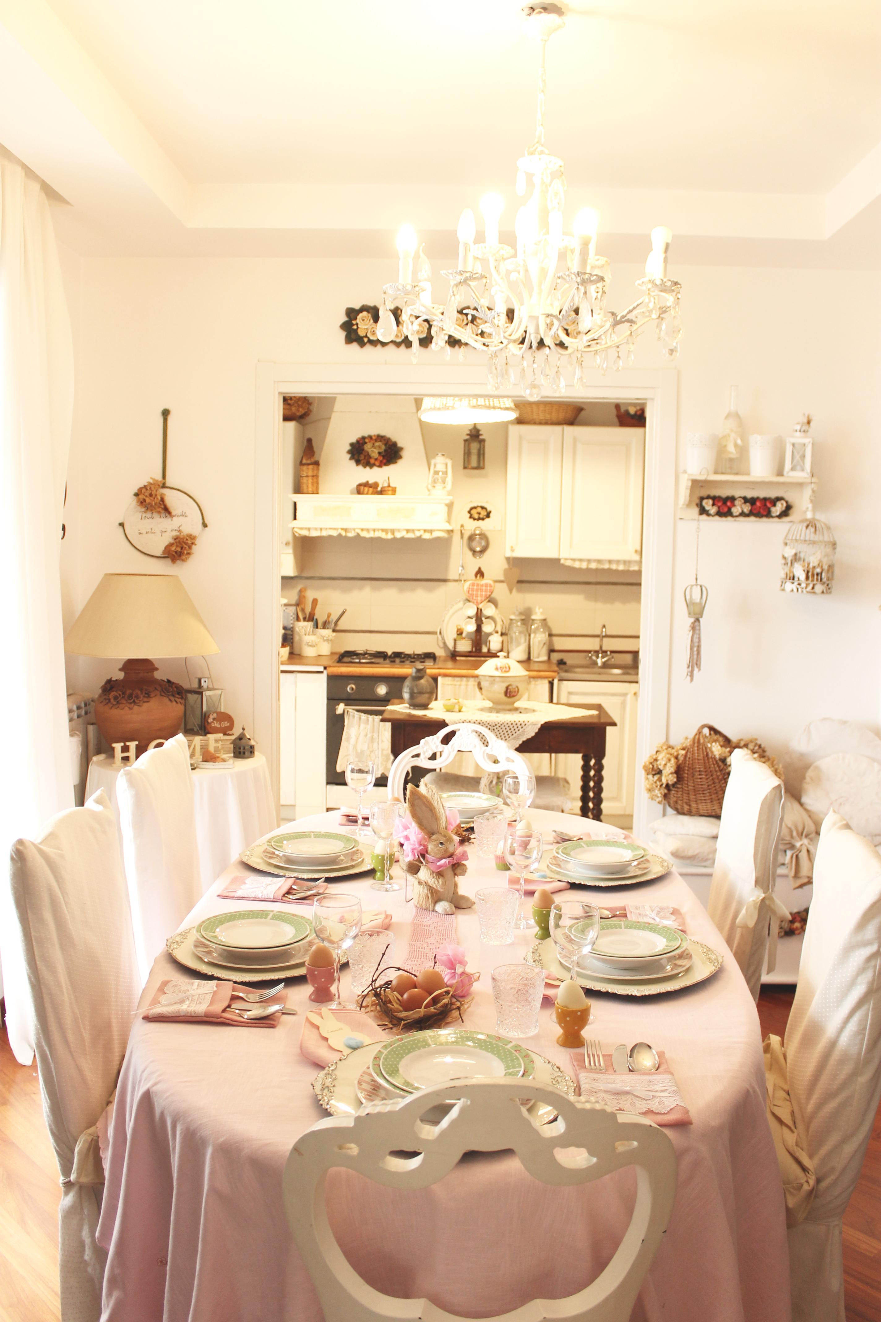 Speciale Pasqua: una tavola in rosa e verde