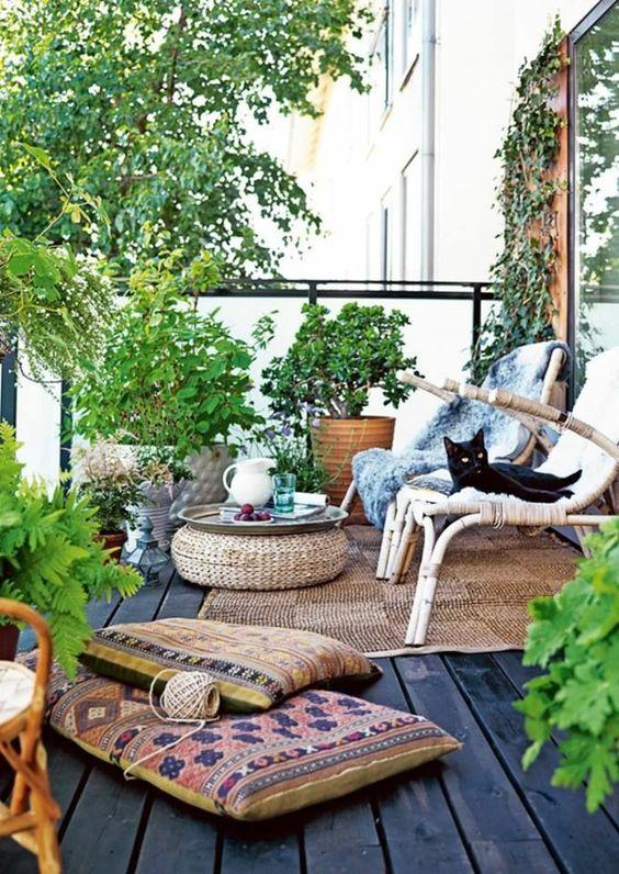 Creare un giardino in balcone