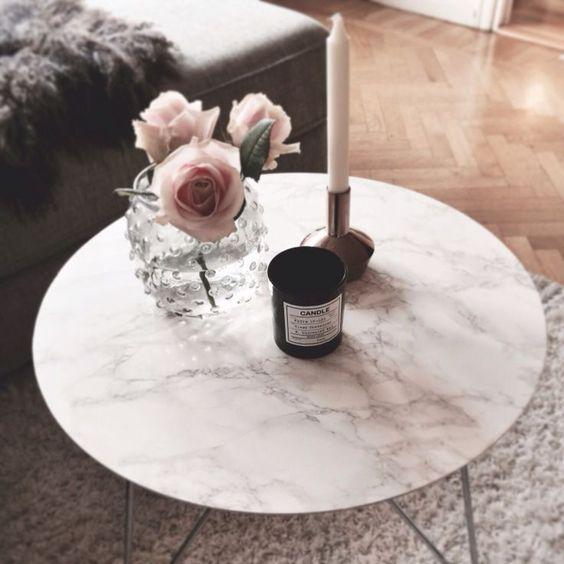 decorazione dei tavolini