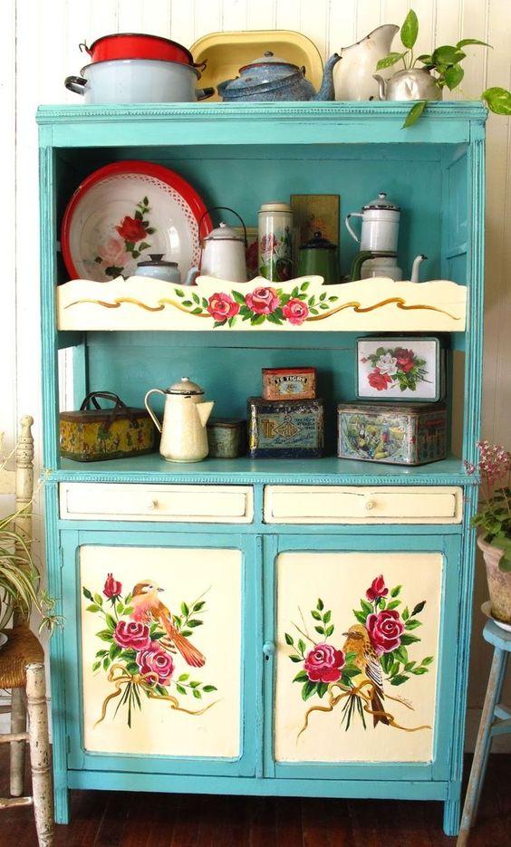 mobili vintage colorati fai da te matrimonio a bologna blog