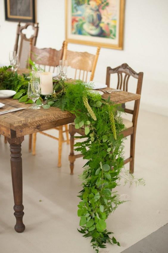la tavola delle nozze: il runner