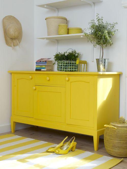 Yellow Dresser Diy