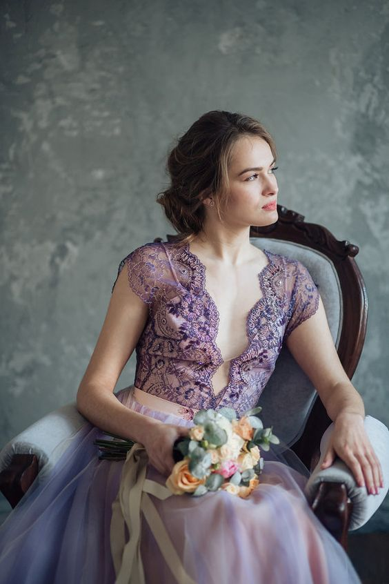sposa: look ultra violet