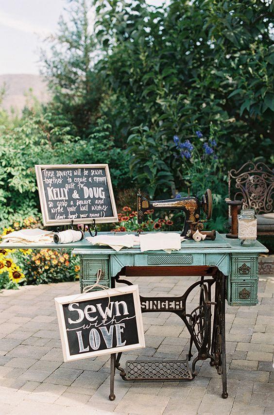 Decorare le nozze con oggetti vintage