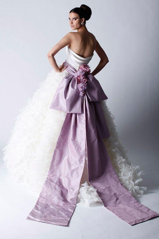 Gli stili della sposa: ultra violet