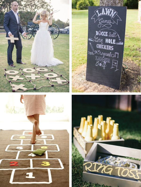 interactive and fun wedding