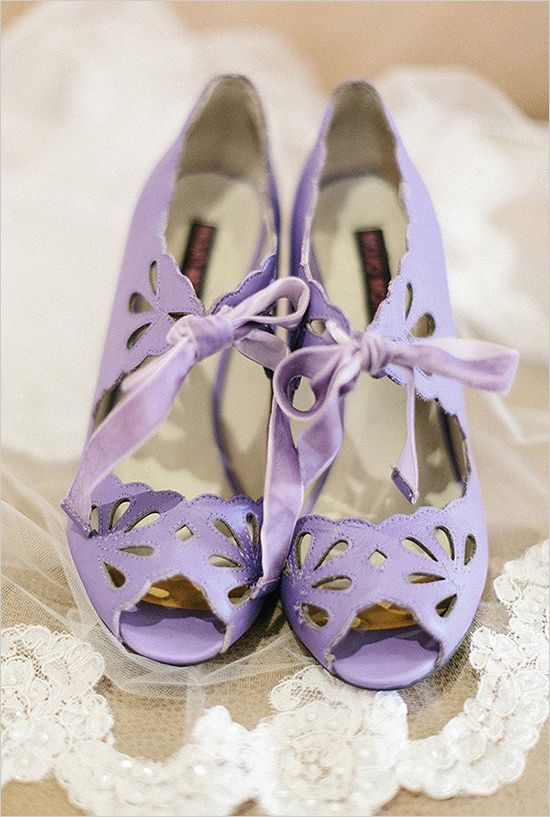 scarpe da sposa in stile vintage