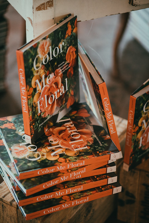 libro Color Me Floral