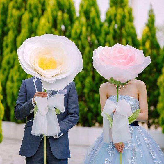 Tendenze decorazione: nozze con i fiori di carta