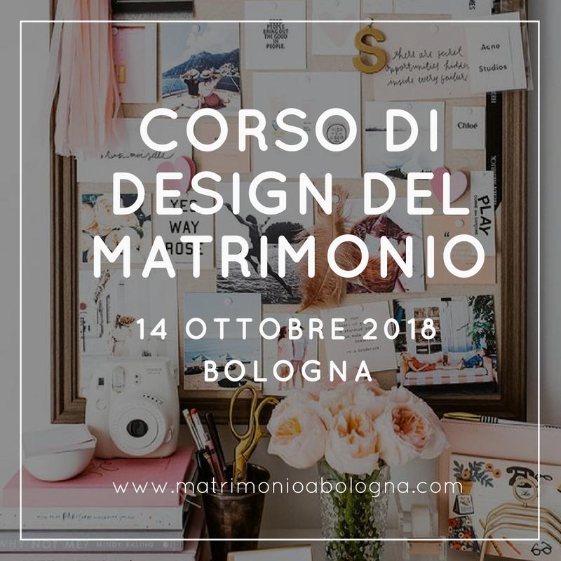 Corso di design del matrimonio matrimonio a bologna blog for Blog di design