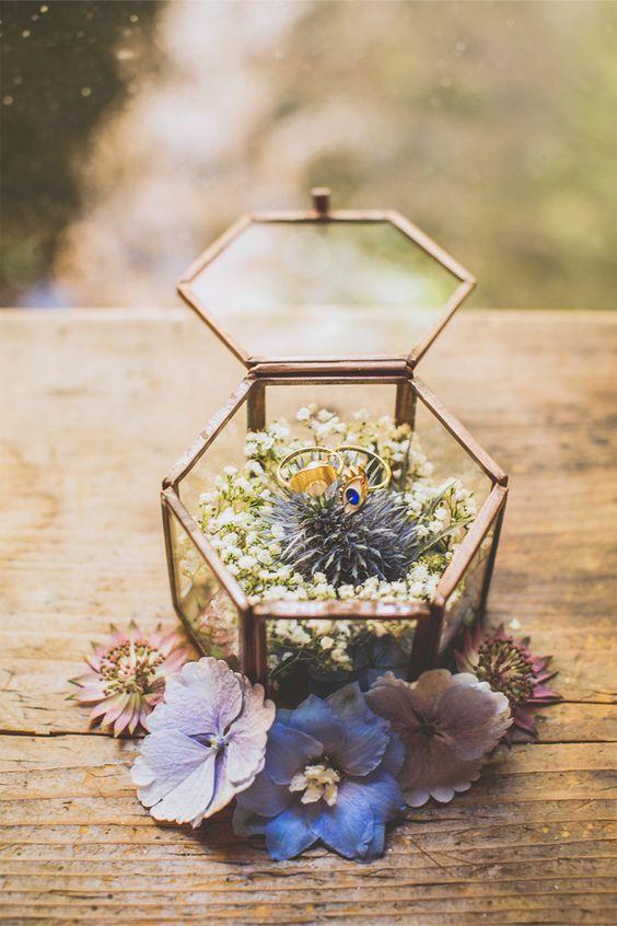 Dettagli per le nozze: il portafedi