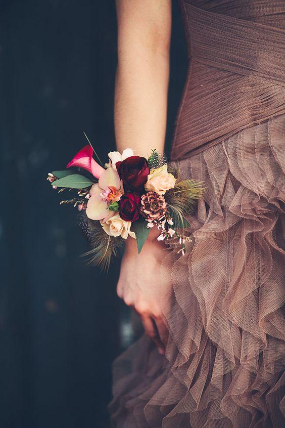 Corsage e bouquet originali